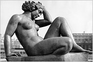 "The Mountain,"" one of Maillol's depictions of Ms. Vierny"