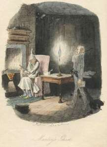 Jacob Marley's Ghost from A Christmas Carol by Dickens