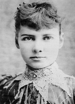 La mujer que pateó el culo de Julio Verne Nellie-bly