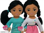 Ty, the maker of Beanie Babies, is introducing two new Ty Girlz dolls named Marvelous Malia and Sweet Sasha