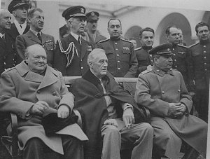 1945 Conference at Yalta