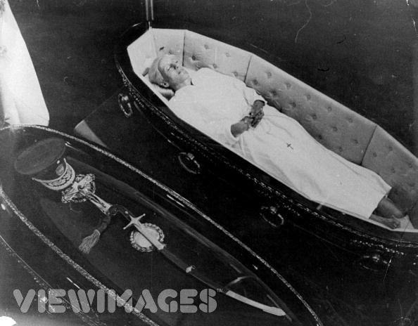 death of eva peron