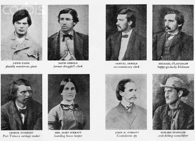 ABRAHAM LINCOLN ASSASSINATION CONSPIRATORS