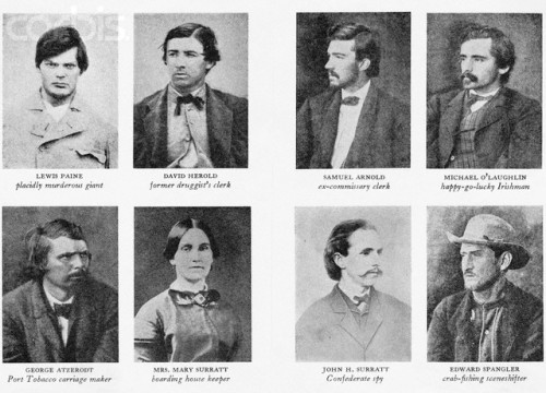 Eight of Lincoln Assassination Conspirators