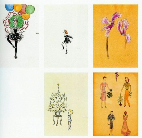 Audrey Hepburn's childhood artwork
