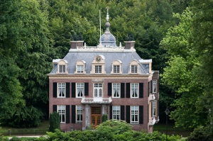 Audrey Hepburn's mother's family was of Dutch nobility. This is one of their homes, the Castle Zypendaal in Arnhem.