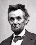 Abraham Lincoln photographed by Alexander Gardner, February 5, 1865