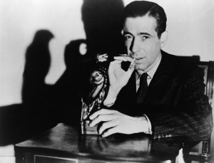 "Bogart in ""The Maltese Falcon"""