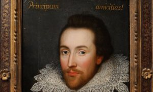 This newly-discovered painting, known as the Cobbe, purports to be a portrait of William Shakespeare (reported in March, 2009)