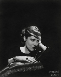 Claire Booth Brokaw (Luce) (1903-1987) as photographed by Cecil Beaton for the August 1934 issue of Vanity Fair