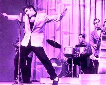 "Elvis performing ""Hound Dog"" (""The Milton Berle Show,"" June 5, 1956)"