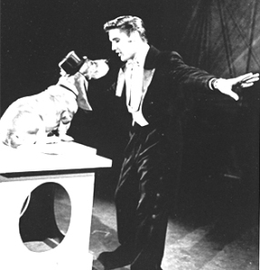 "Elvis singing ""Hound Dog"" (""The Steve Allen Show,"" July 1, 1956)"