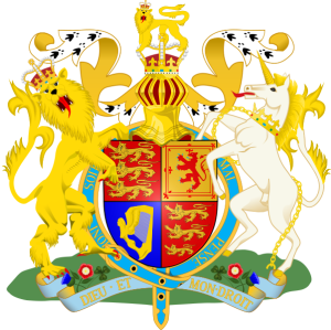 Her Royal Majesty Queen Elizabeth's coat-of-arms