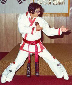 Elvis was an expert at Kenpo Karate. His Karate name was Tiger.