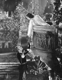 "Leslie Howard as Romeo and Norma Shearer as Juliet in the 1936 film, ""Romeo and Juliet."" Romeo had been hiding in the garden when Juliet came out on the balcony and began her famous soliloquoy."