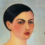 """Portrait of My Sister Cristina Kahlo,"" by Frida Kahlo, 1928 (portion)"