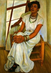"""Portrait of Lupe Marin,"" by Diego Rivera, 1938"
