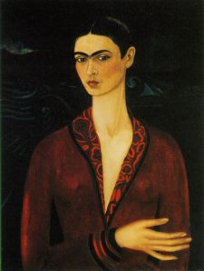 """Self-Portrait for Alejandro Gomez Arias,"" by Frida Kahlo (1926)"