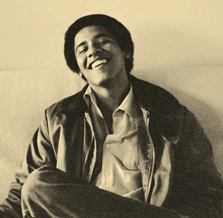 A teenage Barack Obama in a 1980 photo by Lisa Jack