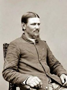 Boston Corbett (1832-?) photographed in 1865
