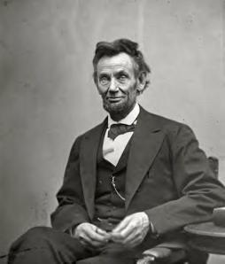 Abraham Lincoln, February 5, 1865. He would live less than 3 more months.