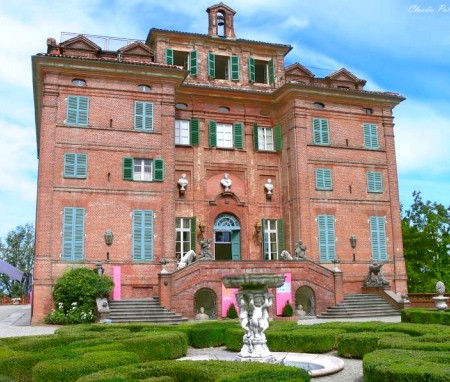 Carla Bruni Sarkozy's family home: the 40-room Castello di Castagneto Po, near Turin, Italy