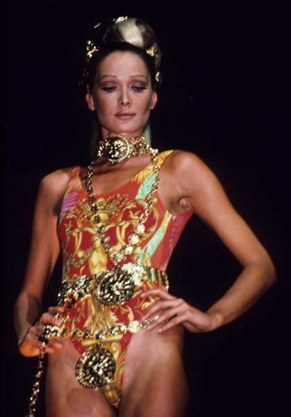 Carla Bruni as international model