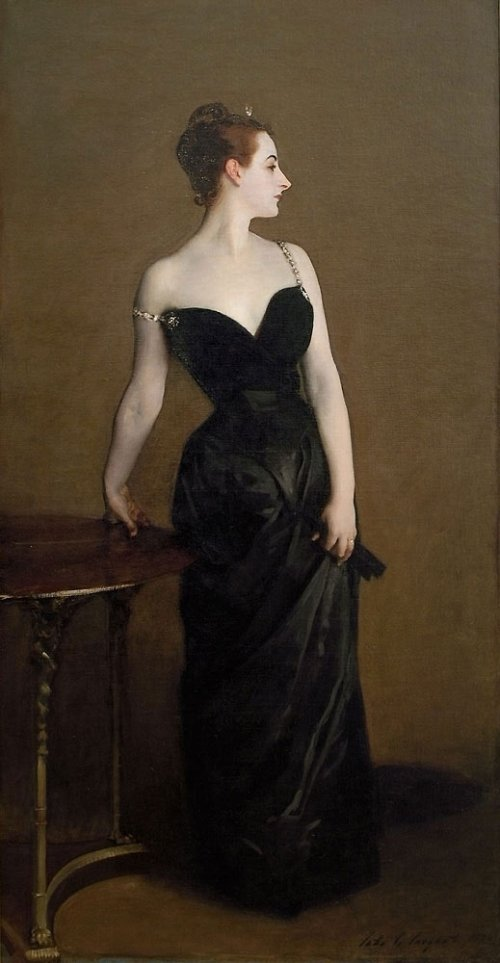 """Madame X"" is shown as it must have originally appeared"
