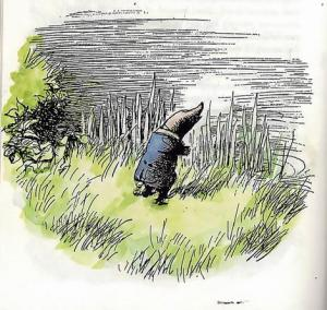 The Mole from The Wind in the Willows by Kenneth Grahame, illustration by E.H. Shepard