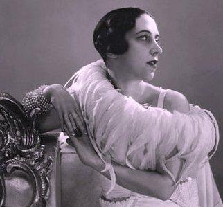 Italian-born fashion designer Elsa Schiaparelli in the 1930s