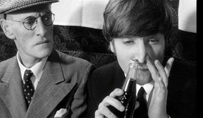 John Lennon Right From A Scene In The Fantastically Funny Film