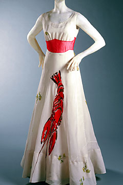 The Lobster Dress by Elsa Schiaparelli