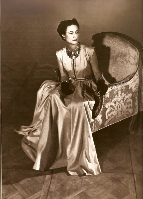 The Duchess of Windsor filled her empty life by buying expensive clothes and getting the Duke to buy her costly jewels. She was always immaculately dressed and never casual. In 1935, she made the Paris Couture best-dressed list and remained there for 40 years.