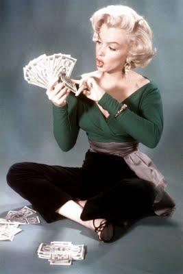 """Marilyn Monroe in """"Gentleman Prefer Blondes"""" (1963)"""