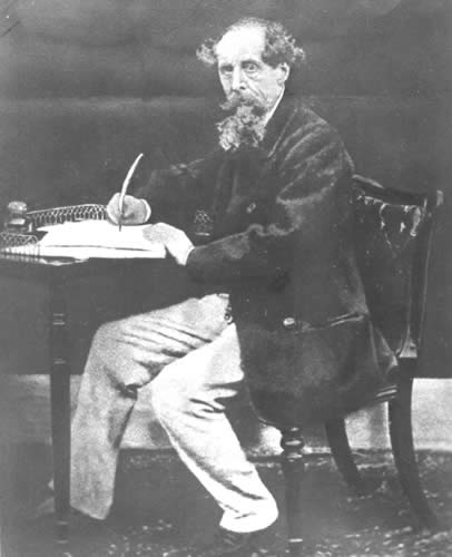 charles dickens short biography