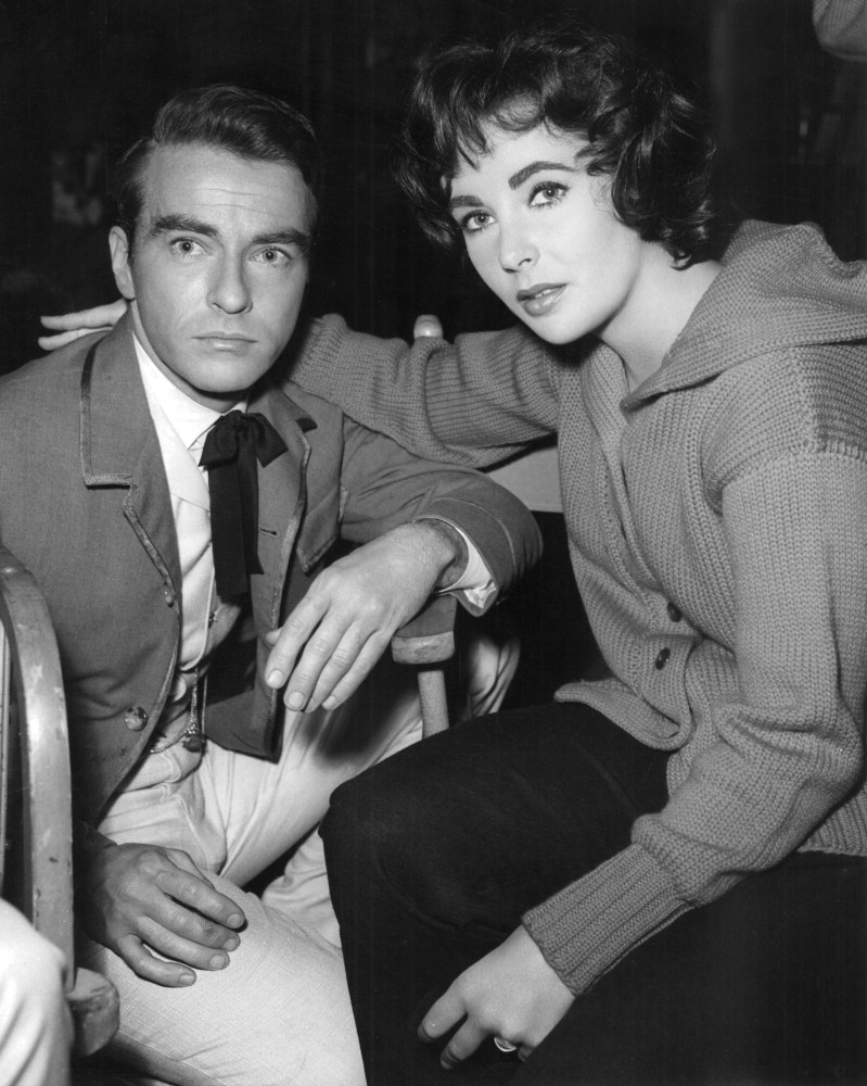 elizabeth taylor and montgomery clift relationship