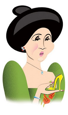 Imelda Marcos from a Vanity Fair interview, 2007