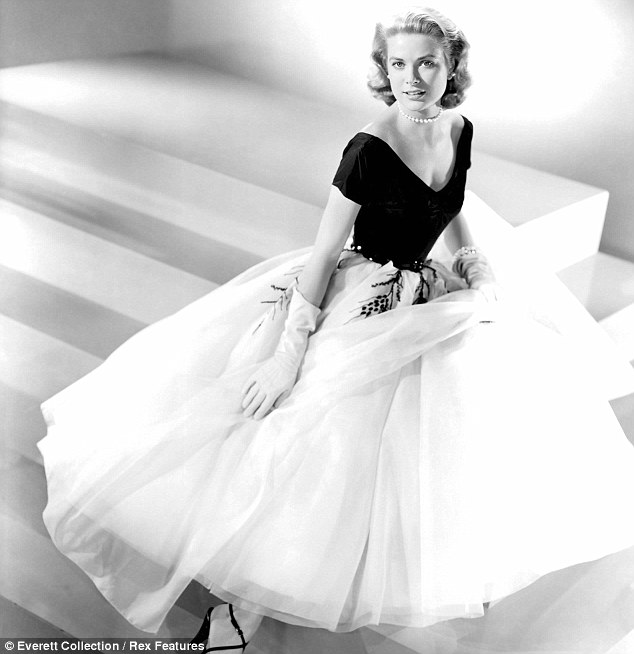 Grace Kelly Paris dress | Lisa\'s History Room