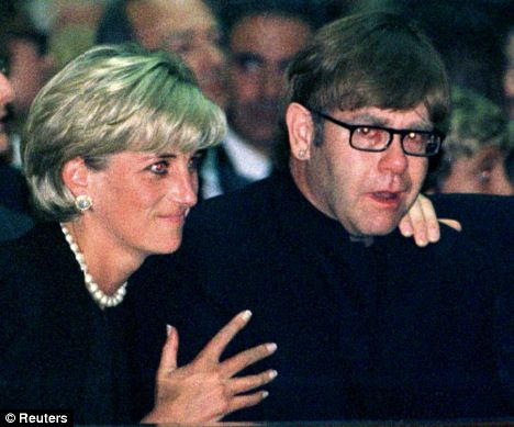 princess diana funeral queen. Princess Diana comforts rock