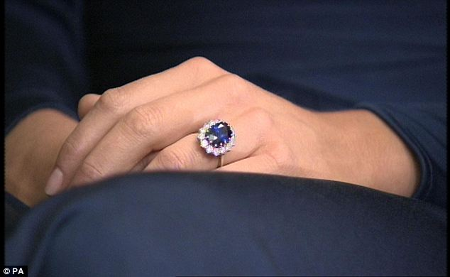 Kate Middletonu0027s Engagement Ring Belonged To Princess Diana. U201c