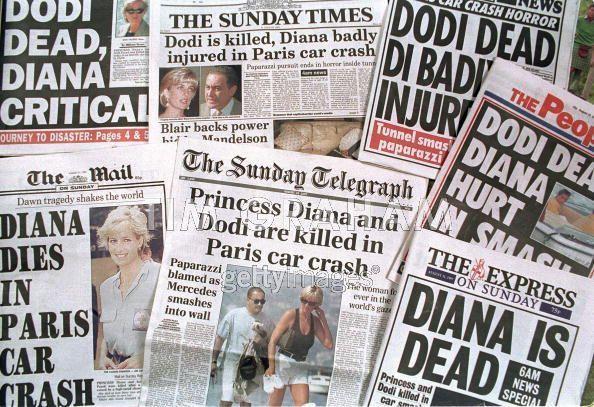 Newspapers diana death princess diana 18561673 594 407