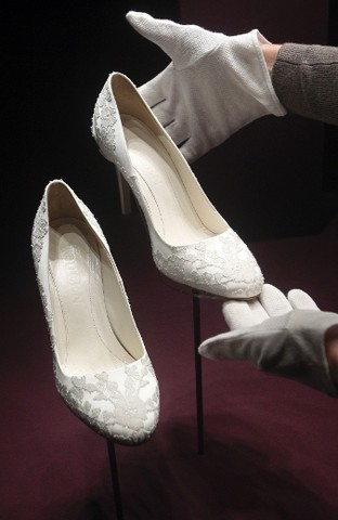 Kate Middletons Bridal Shoes
