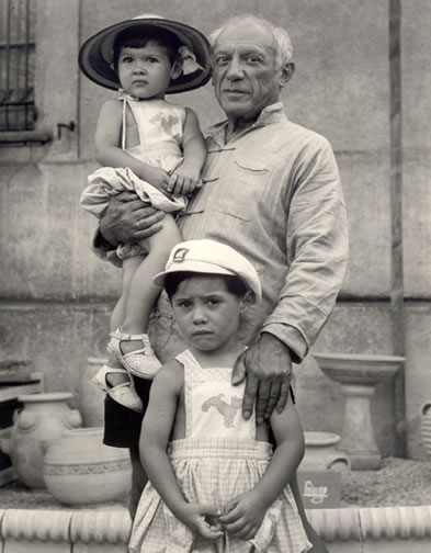 pictures of picasso and children | Lisa's History Room