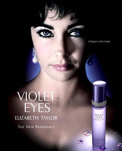 Elizabeth Taylor violet eyes perfumeElizabeth Taylor Eyes