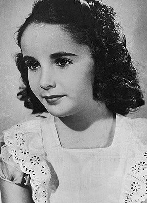 3d0f8eeac89 Elizabeth Taylor had double eyelashes | Lisa's History Room