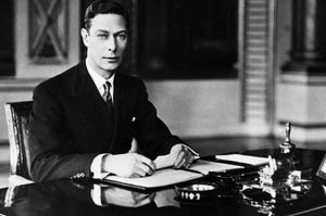George VI (Albert Frederick Arthur George; 14 December 1895 – 6 February 1952) was King of the United Kingdom and the Dominions of the British Commonwealth from 11 December 1936 until his death. He was the last Emperor of India, and the first Head of the Commonwealth.