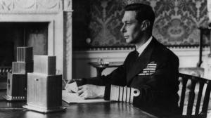 King George VI addresses his people on September 19, 1939, at the outbreak of WWII.
