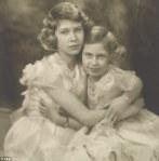 Princesses Elizabeth and Margaret Rose, 1939Feb