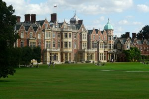 The Royal Residence at Sandringham, England