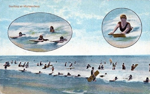 Surf Bathing at Muizenberg ca. 1929